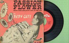 MINA, BABY GATE / Passion Flower / FESTIVAL HF 37-20 Press Spain 1959 EP G