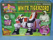 POWER Rangers mmpr Mighty Morphin DX BIANCO tigerzord in Nuovo di zecca scatola sigillata