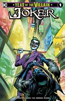 JOKER YEAR OF THE VILLAIN #1 DOUG MAHNKE VARIANT NM BATMAN HARLEY QUINN CATWOMAN
