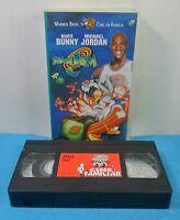 VHS VINTAGE CLASICO WARNER BROS - SPACE JAM - BUGS BUNNY Y MICHAEL JORDAN