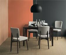 Calligaris Connubia Dining Table Abaco 4758-V 210 in wenge extendible leaf