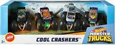 Hot Wheels Monster Jam Trucks Cool Crushers Destroyers 4 pack