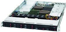 Supermicro 1U 12 Core 256GB Server Dual PS 10GB X520 SAS2 RAID 8 SFF SSD Drives