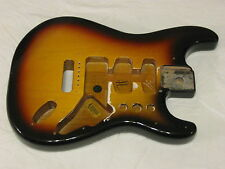 Fender Standard Stratocaster Guitar Body - Excellent - 3 Tone Sunburst