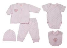Baby girls clothes 5 piece princess set layette 0-3 3-6 months