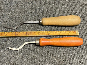 Vintage Frank Mittermeier Gunsmith Gun Stock Checkering Tools 2 Pieces