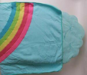 Pottery Barn Kids Rainbow nap mat fleece sleep mat *final sample*