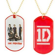 One Direction 1D Dog Tag Necklace Harry Liam Louis Zayn Niall Free Shipping!