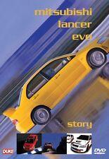 MITSUBISHI LANCER EVO STORY DVD. WRC RALLY CAR, MOTOR SPORT. 90 Min. DUKE 3641NV