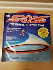 "Vintage1986 Rare Original Superflight Aerobie Fantastic Flying Ring 13"" IN BOX"