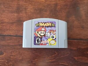 Nintendo N64 Video Game Cartridge Card Super Smash Bros NTSC  US SELLER