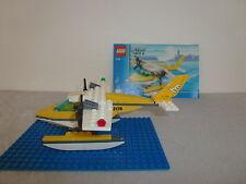 Lego City 3178 Wasserflugzeug mit blauer legoplatte+OBA *Rarität*