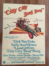 MANIFESTO,2F,E,Citty Citty Bang Bang 1969,Dick Van Dyke Howes  Hughes auto car