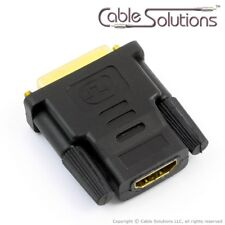 Cable Solutions HDMI-female to DVI-male Adapter, ADA-HDMIF-2-DVIM