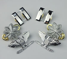 US Army officer rank insignia Captain Lieutenant Colonel Colonel Rank Badge Pin