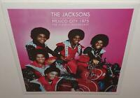 THE JACKSONS LIVE IN MEXICO CITY 1975 (2019) BRAND NEW SEALED LTD CLEAR VINYL LP