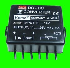 NEU! SPANNUNGSWANDLER Voltage-Converter 6/12V auf 12/24V/DC Spannung-Verdoppler