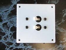 PANEL BREAKER AC DC EP-BRK-2 WITH TWO BREAKERS 50-13141 20 AMP WHITE BOAT EBAY