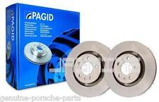 Pair OEM Pagid Porsche 911 3.2 Carrera 84 to 89 Rear Brake Disc 91135204108 NEW