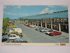VINTAGE Shopping Centre, Milton Keynes Postcard Parking Lot View Britain