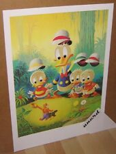 Carl Barks stampa d'arte: Voodoo hoodooed-Donald Duck, Nephews Art Print