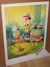 Carl Barks Kunstdruck: Voodoo Hoodooed - Donald Duck, Nephews Art Print