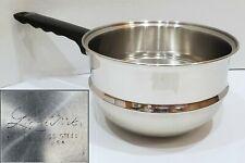 Lifetime Cookware Stainless Steel 2 1/2 QT Double Boiler Insert for 3 QT Pan Pot
