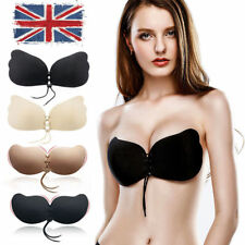Wing Invisible Strapless Bra Self Adhesive Stick On Push Up Gel Backless Sexy