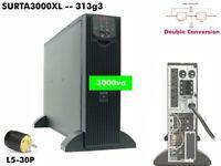 313g3~ APC Online SmartUPS 3000va UPS 120v Best Power SURTA3000XL #NewBatts