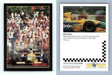 Piquet / CAN #159 Formula 1 Pro Trac's 1991 Premier Racing Card