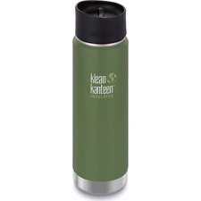 Klean Kanteen wide-mouth 20 oz insulated bottle with cafe top