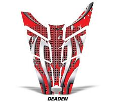 Sled Hood Graphics Kit Decal Sticker Wrap For Polaris Rush RMK 11-16 DEADEN RED