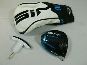 2021 Taylormade Sim2 8* Driver Head Only Sim 2 + Headcover H/C