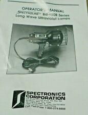Spectroline B1b150b Long Wave Ultraviolet Lamp