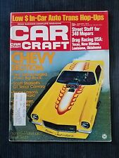Car Craft Jan 1973 Drag Racing - Chevy Section - Bill Grumpy Jenkins - Camaro