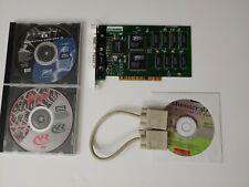 3DFX Voodoo Diamond Monster 3D 4MB PCI Plus 3 Games *COMPLETE*