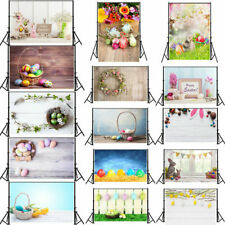 Easter Day Colourful Photography Backdrop Photo Background Baby Kids Studio