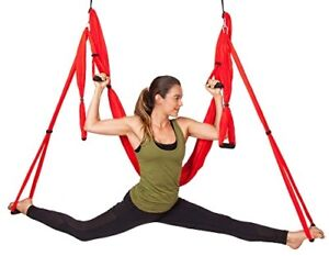 Pink Yoga Swing by WNG Brands - Strong Anti-Gravity Back Inversion for Exercises