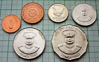 TONGA 1996 - 2002 1, 2, 5, 10, 20 & 50 SENITI - 6 COINS SET, ALL UNC