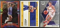 Lot of (3) Jordan Poole, Including Prizm red wave RC, Contenders RC & Mosaic RC