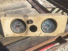 Mack Speedometer And Tachometer