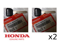 GENUINE HONDA MASTER BLANK IGNITION KEY CIVIC CRX DEL SOL (SET OF 2) 35117SH3013