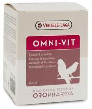 Versele Laga Omni Vit Bird Blend Of vitamins 200 gr Cage Birds Canaries Pigeons