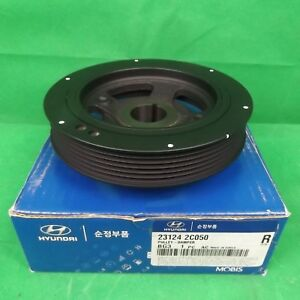 GENUINE HYUNDAI I MAX BUS 2.4 L 4 CYL PETROL ALL MODEL HARMONIC BALANCER ASSY