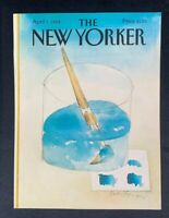 COVER ONLY ~ The New Yorker Magazine, April 2, 1984 ~ Andre Francois
