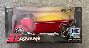 Jada 2005 D-Rod$ 1:24 Red '47 Ford Coe -  NIB Good Condition