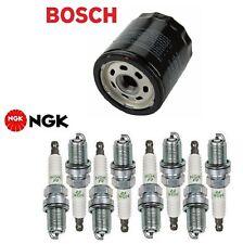 Tune Up Kit Engine Oil Filter Spark Plugs for Toyota 4Runner V8; 4.7L 2002