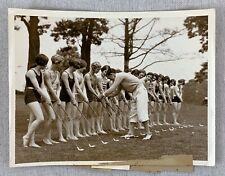 Vtg Org 1928 FOLLIES GIRLS JOHNNIE FARRELL GOLF PHOTO PGA Women Swimsuits Risque