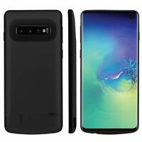 For Samsung Galaxy S10 Plus S10E Portable Extend Power Bank Battery Charger Case