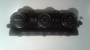 13-17 VW GOLF MK7 A/C HEATER CONTROL SWITCH PANEL 5G0907044BD